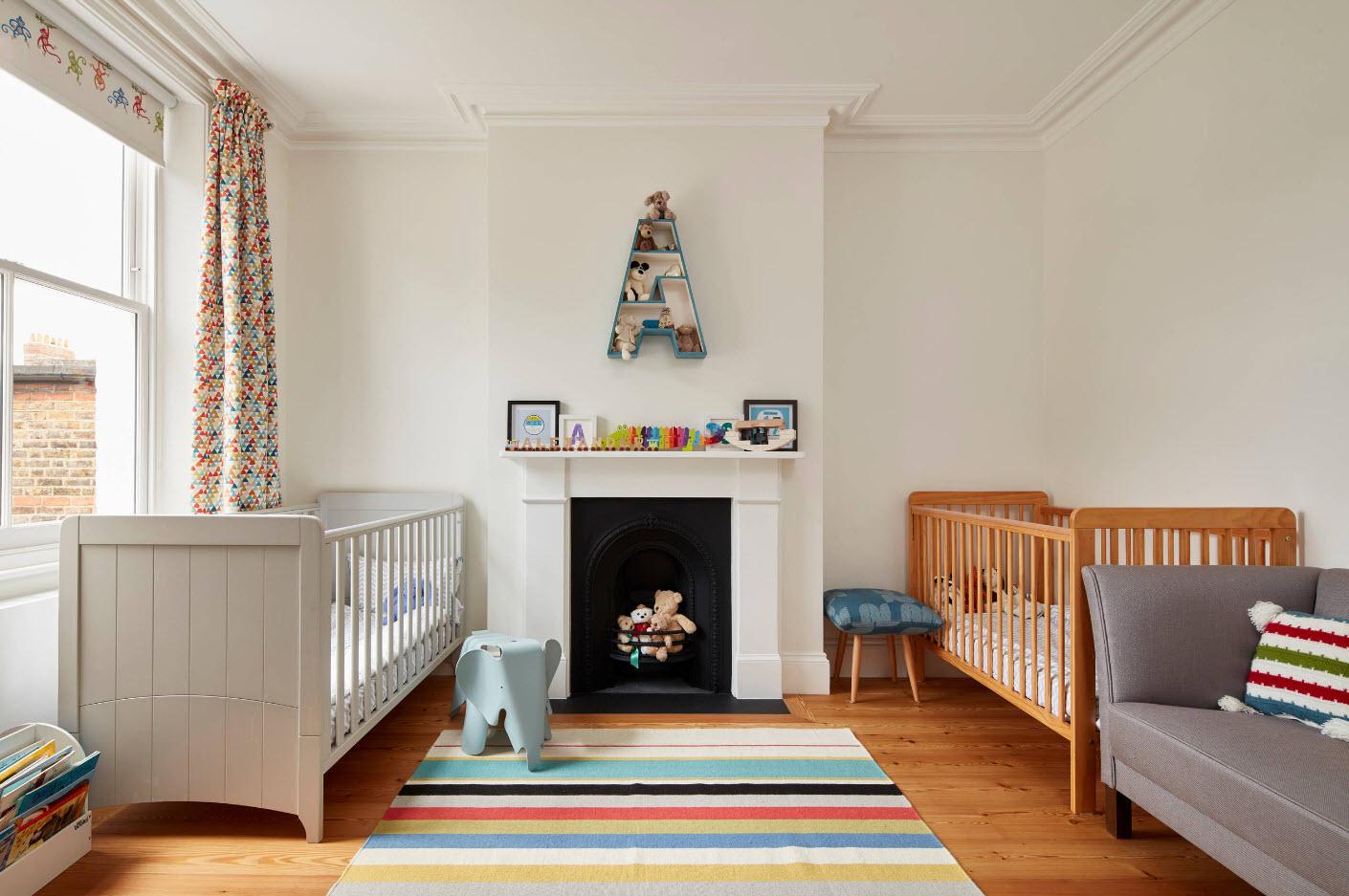 Комната для двоих новорожденных