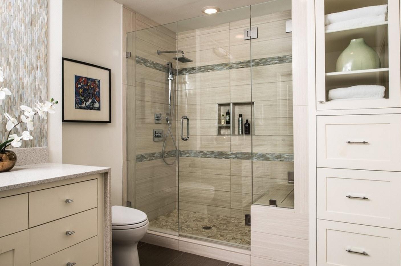 В ванной комнате скромных размеров