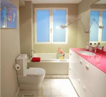 Оформление ванной комнаты малой площади