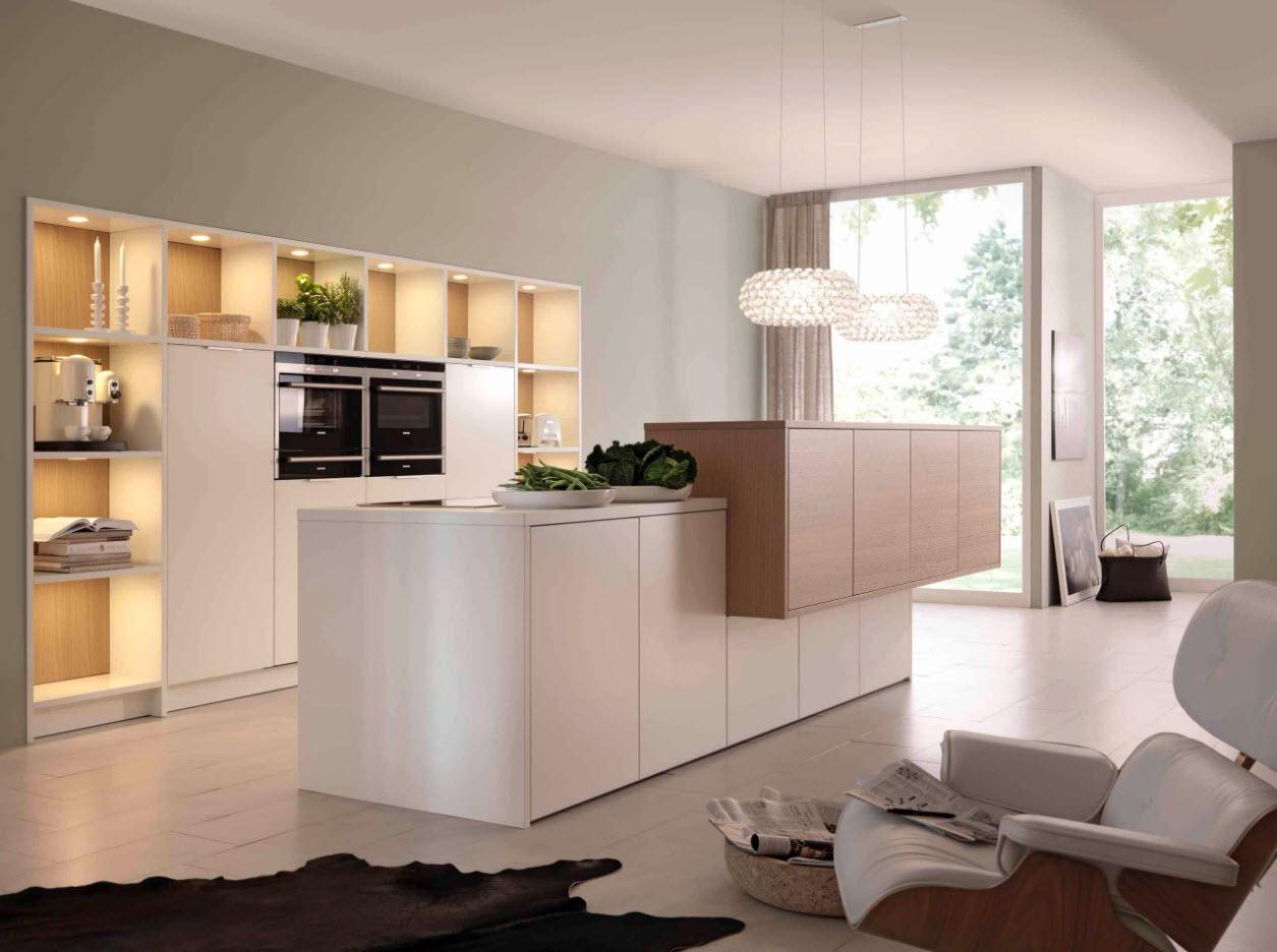 Лаконичные мебельные решения
