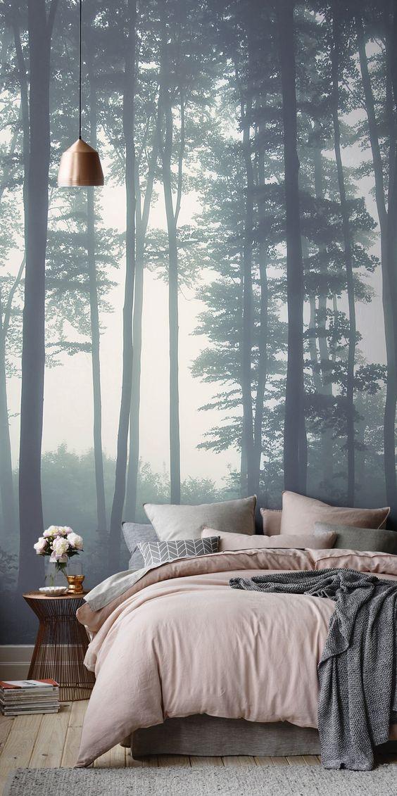 Спальня в сосновом бору