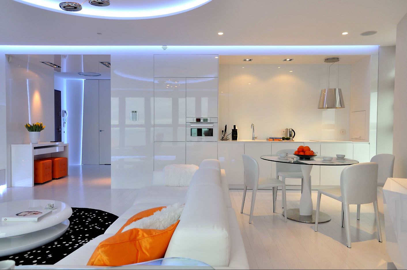 Кухня, совмещенная с гостиной