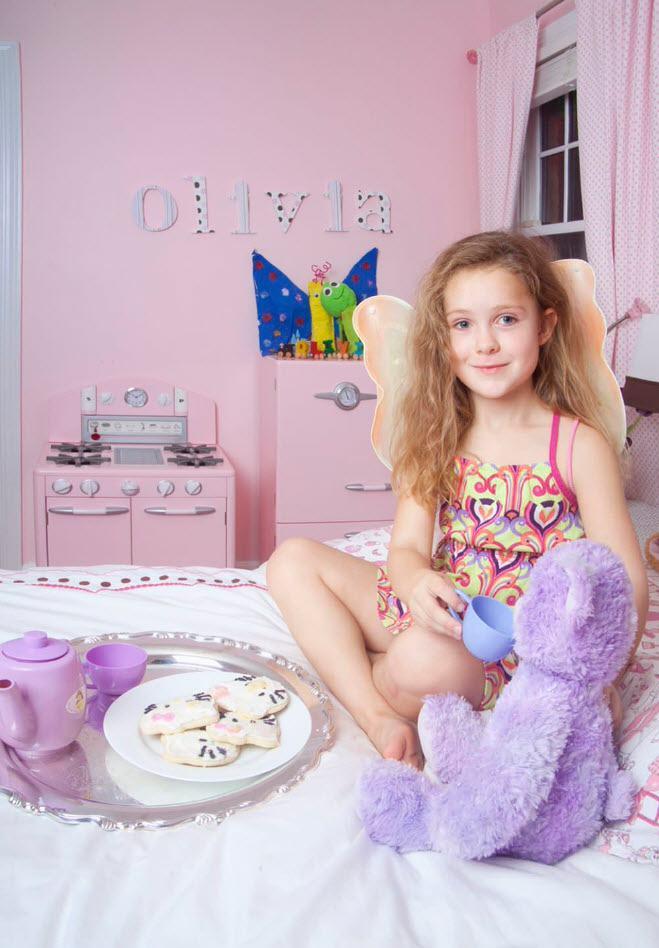Интерьер девичьей комнаты