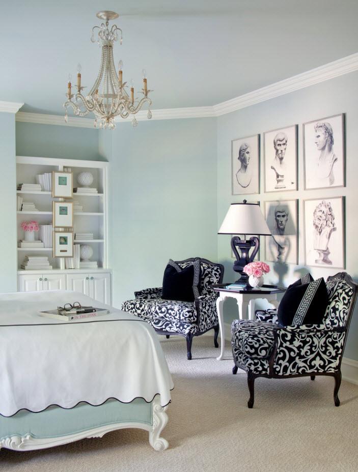 Оригинальные и контрастные кресла