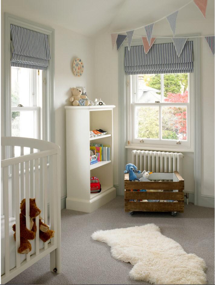 Хранение в комнате младенца