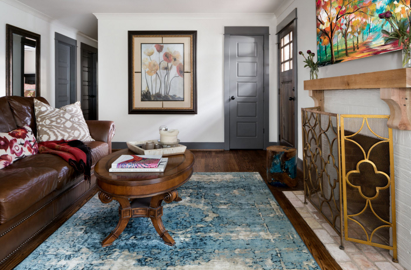 Комфортная и практичная гостиная