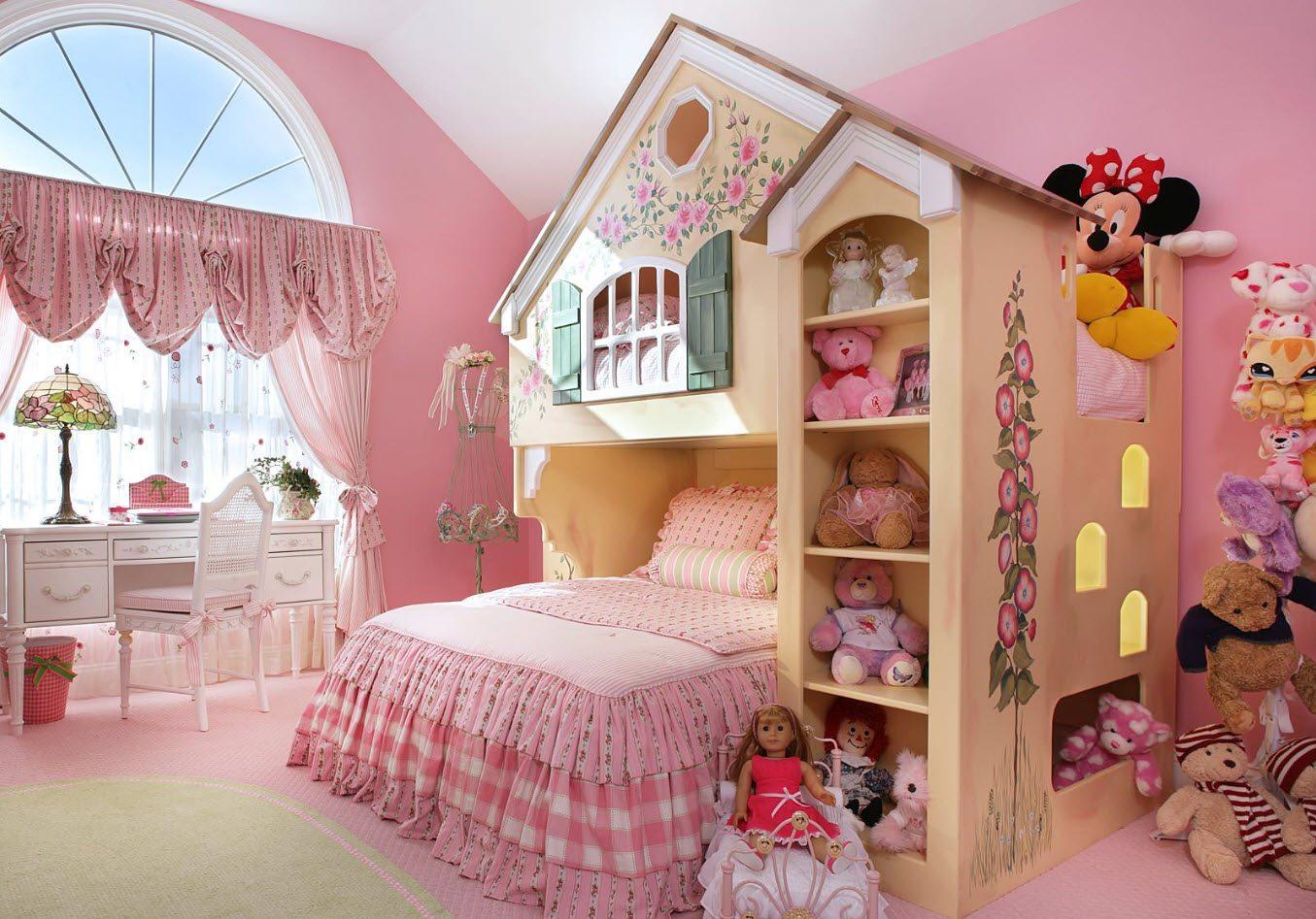 В комнате принцессы