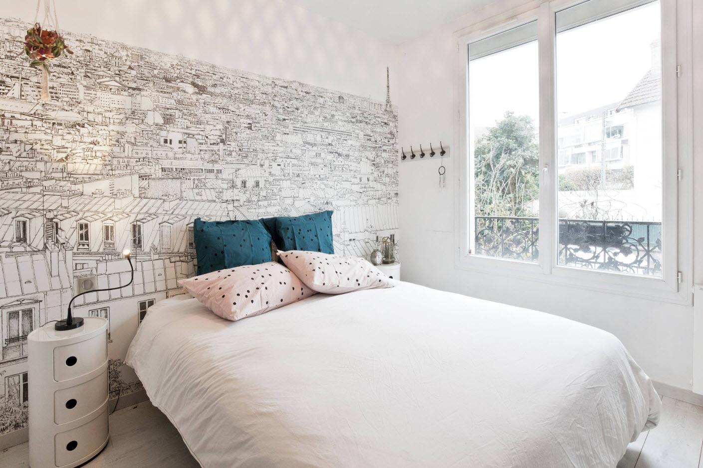 Белый цвет для малого помещения