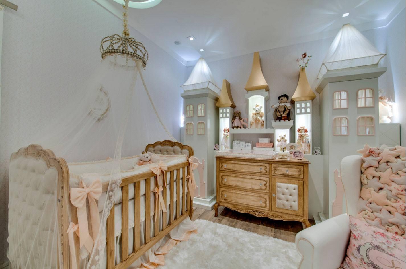 Комната для девочки-младенца
