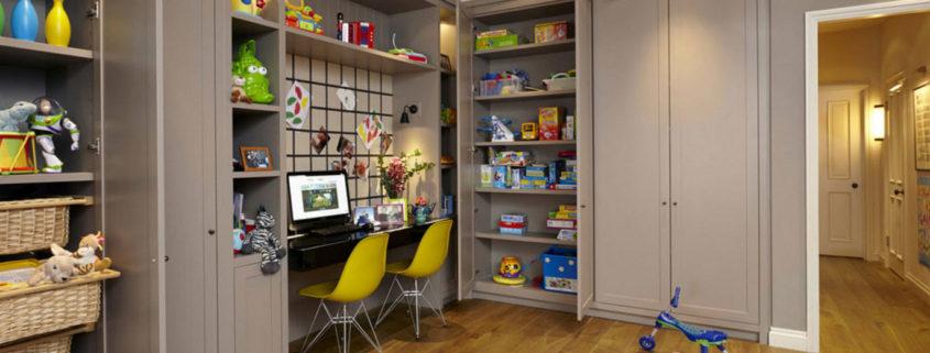 Шкафы для хранения в детской комнате