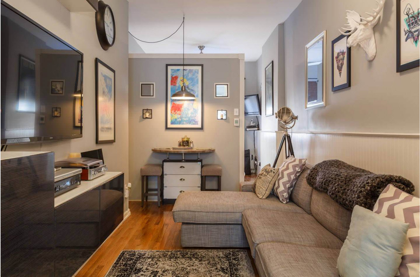 Дизайн для маленькой комнаты