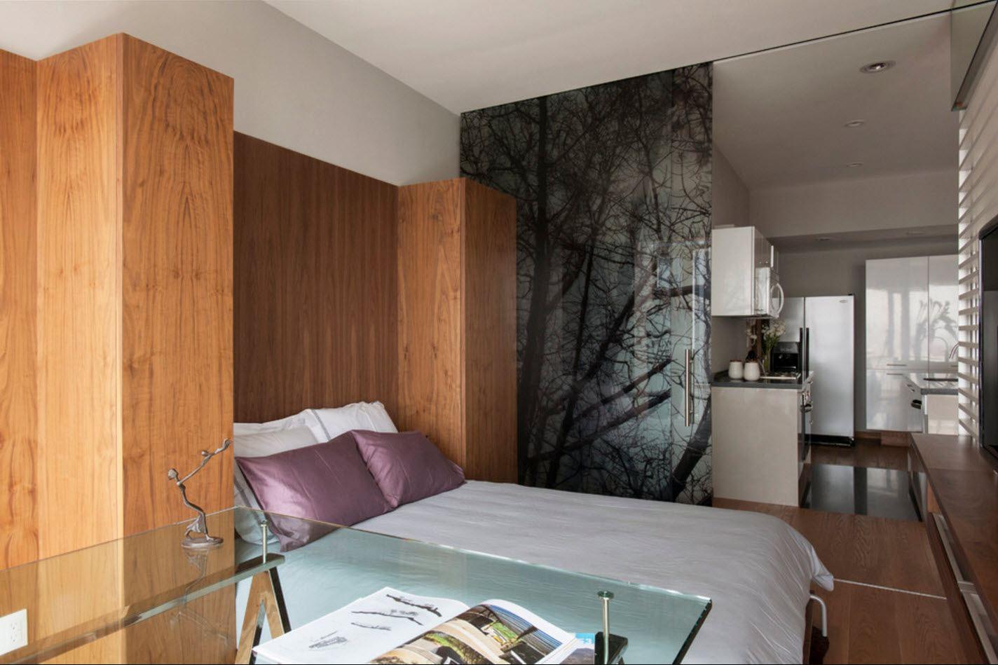 Дизайн квартир с перегородками 52