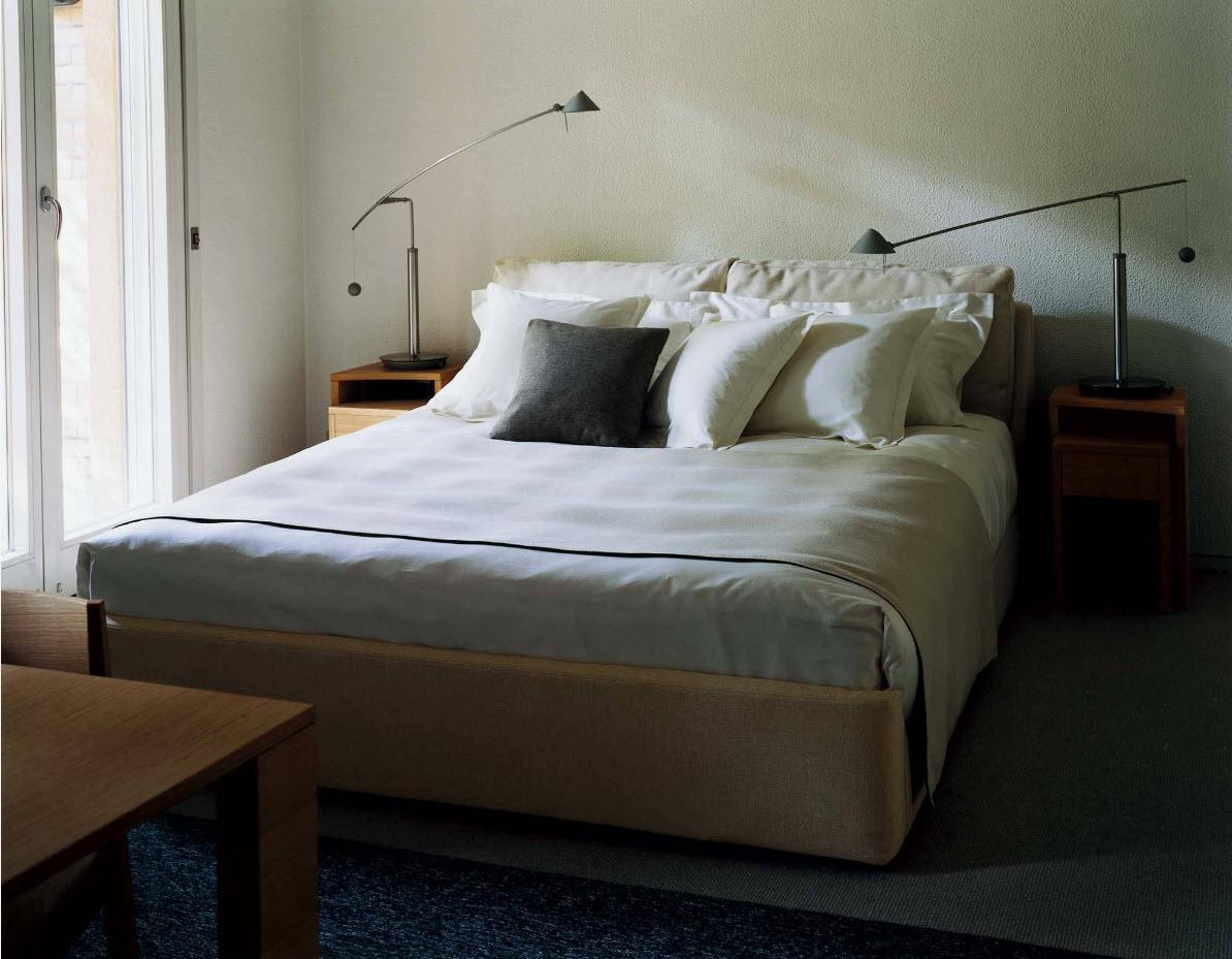 Простые решения для малой спальни