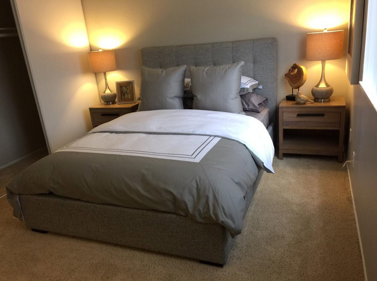 Дизайн для небольшой спальни