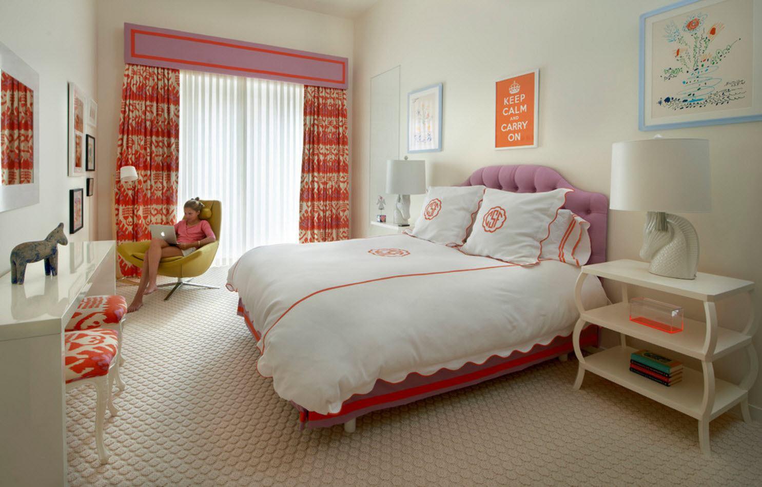 Интерьер комнаты девочки-подростка