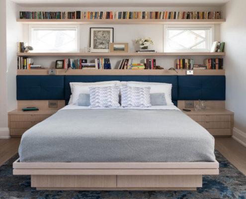 Современный дизайн для многофункциональной спальни