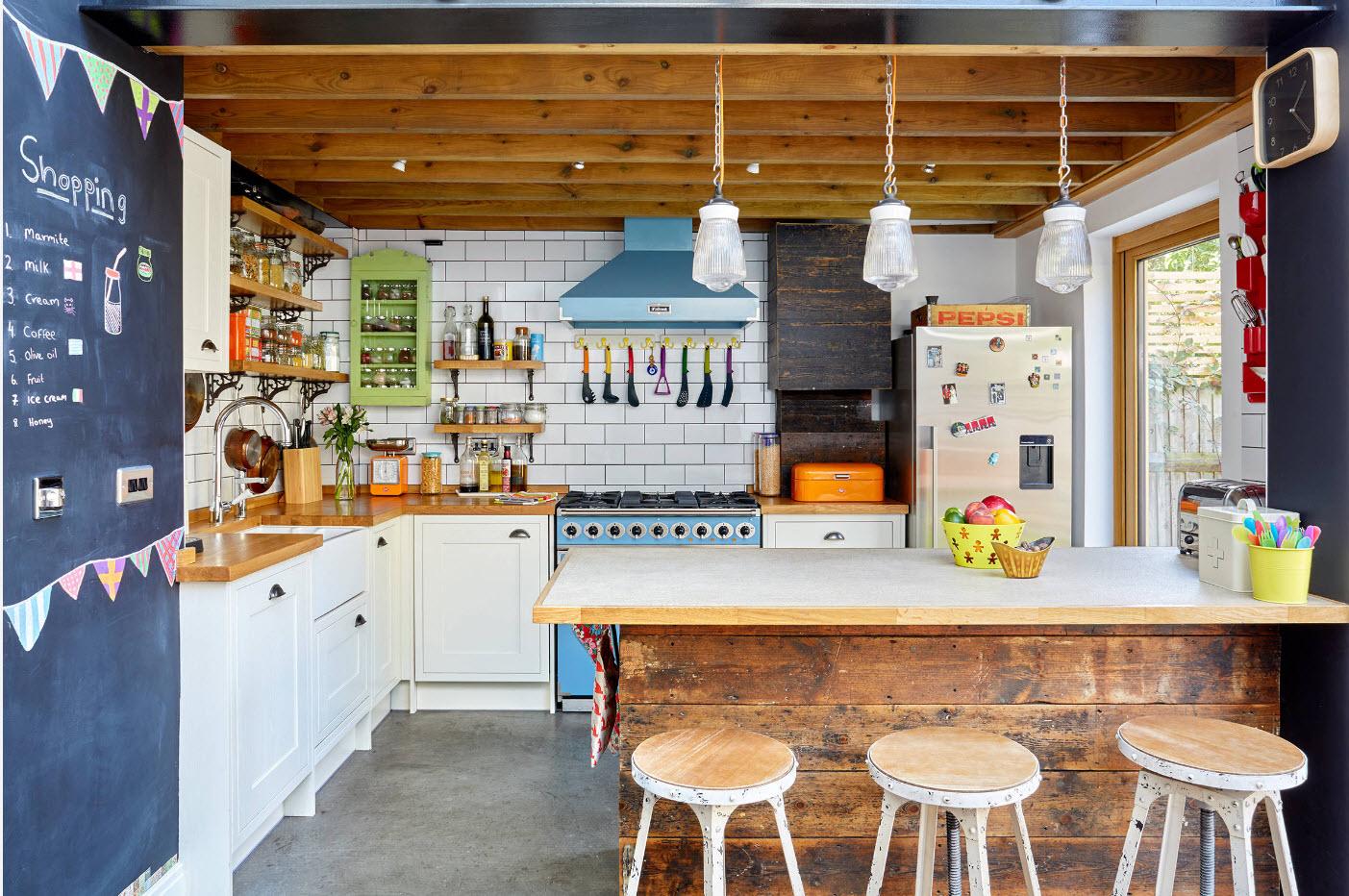 Эклектичная кухня