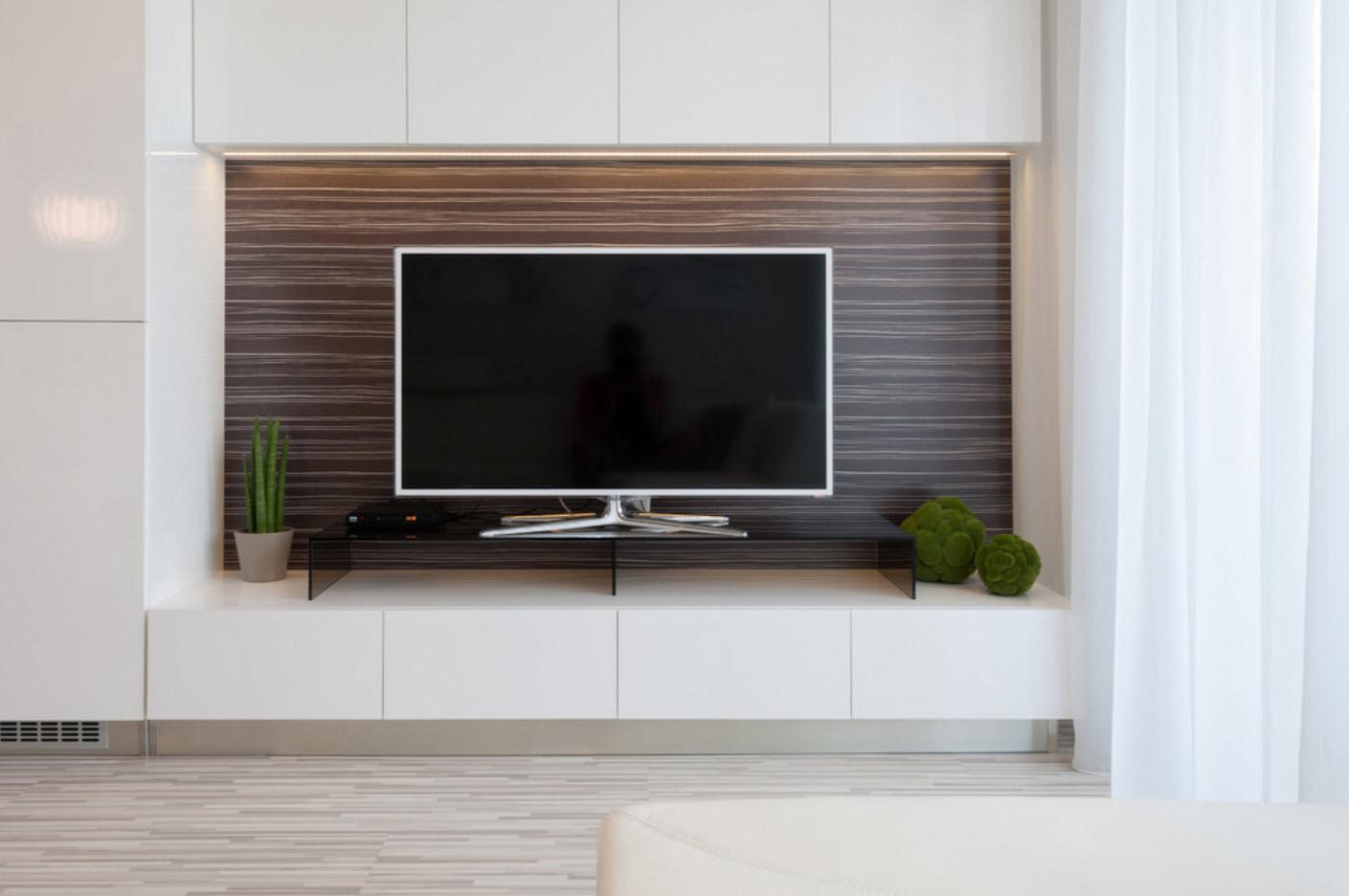 Системы хранения в зоне гостиной