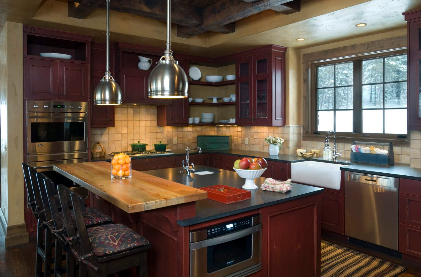 Стулья для классического дизайна кухни