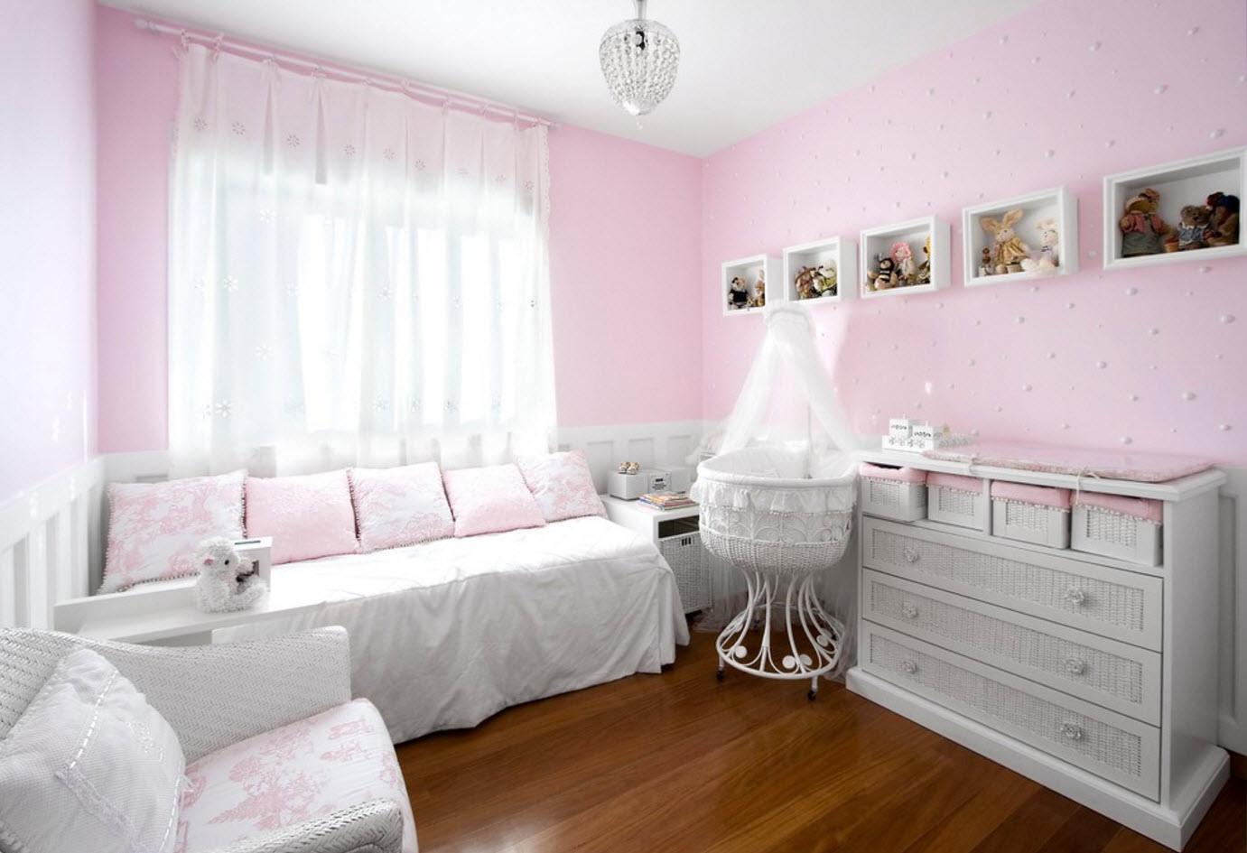 Дизайн комнаты для новорожденной