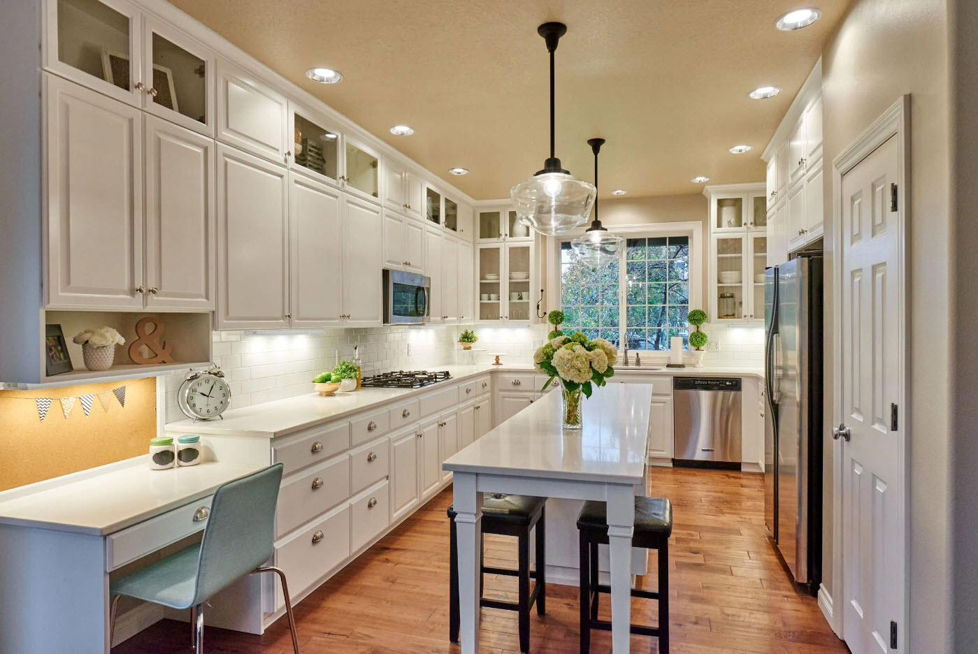 Нео-классика в кухне
