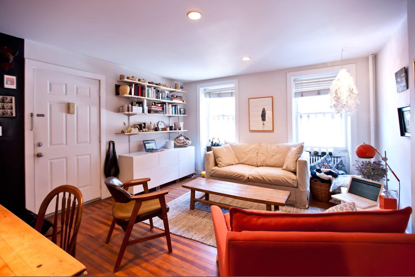 Планировка квартиры с двумя комнатами