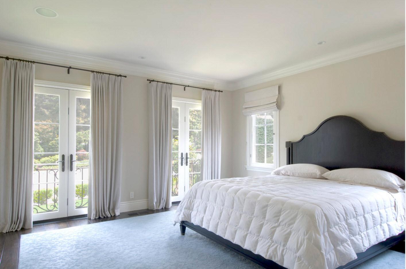 Светлый материал для спальни