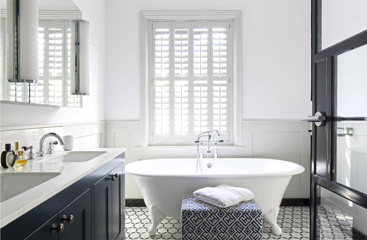 Контрасты для ванной комнаты