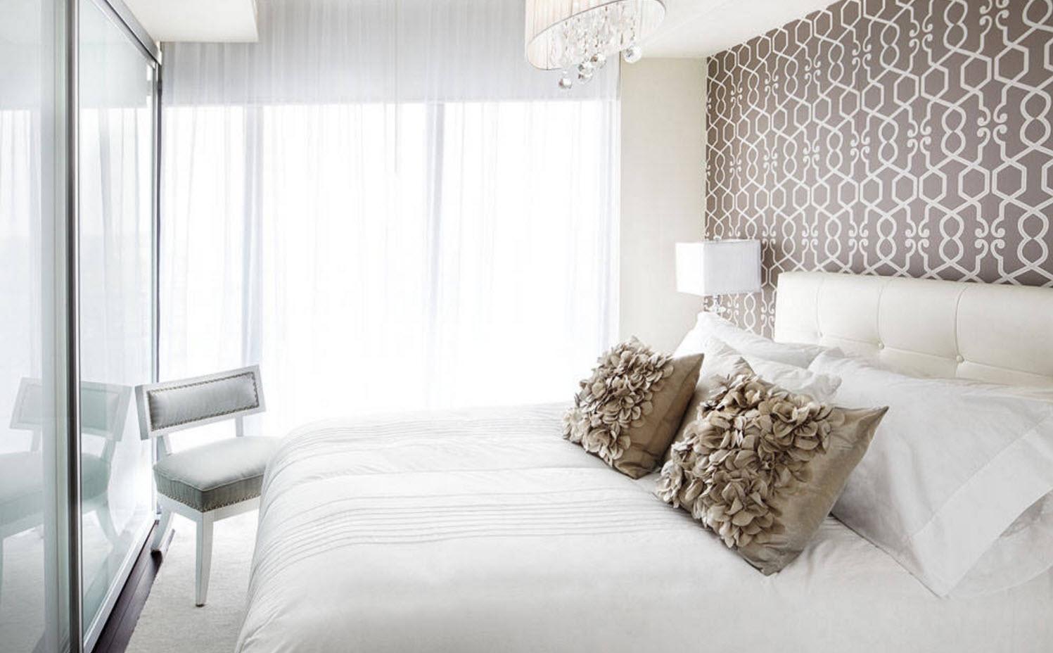 Отделка маленькой спальни