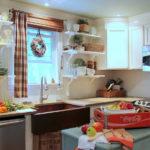 Шторы для кухни – тенденции 2018