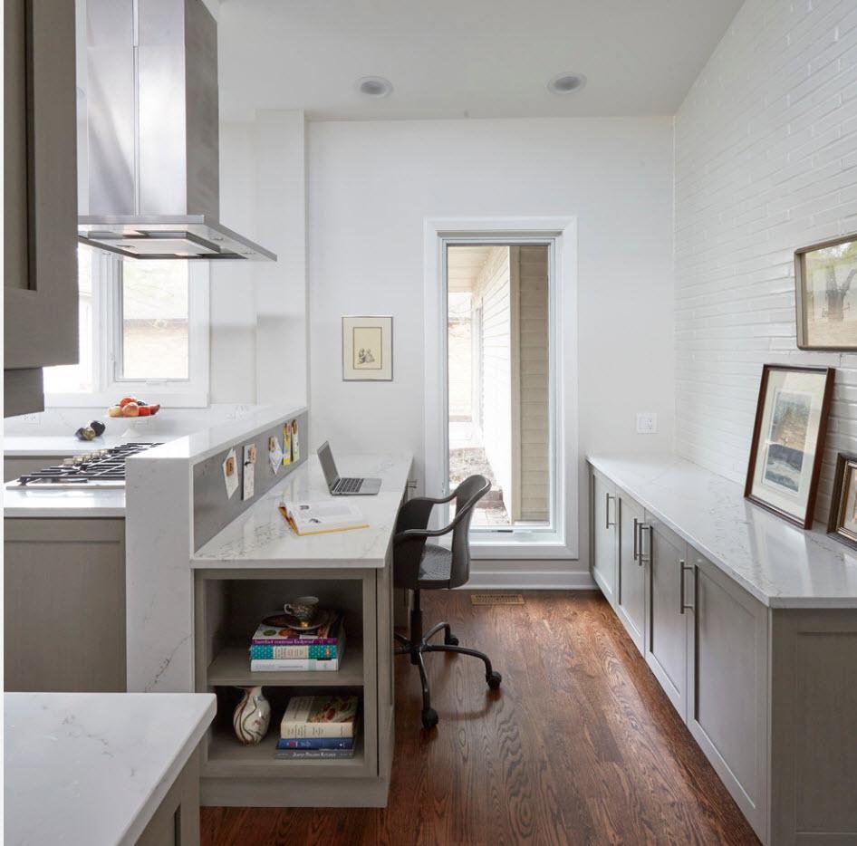 Рабочее место в кухне