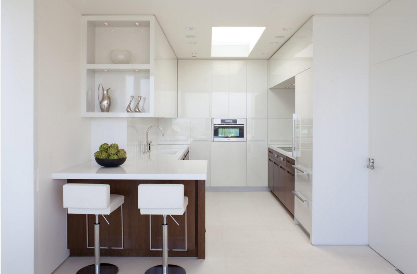 Белоснежный образ кухни