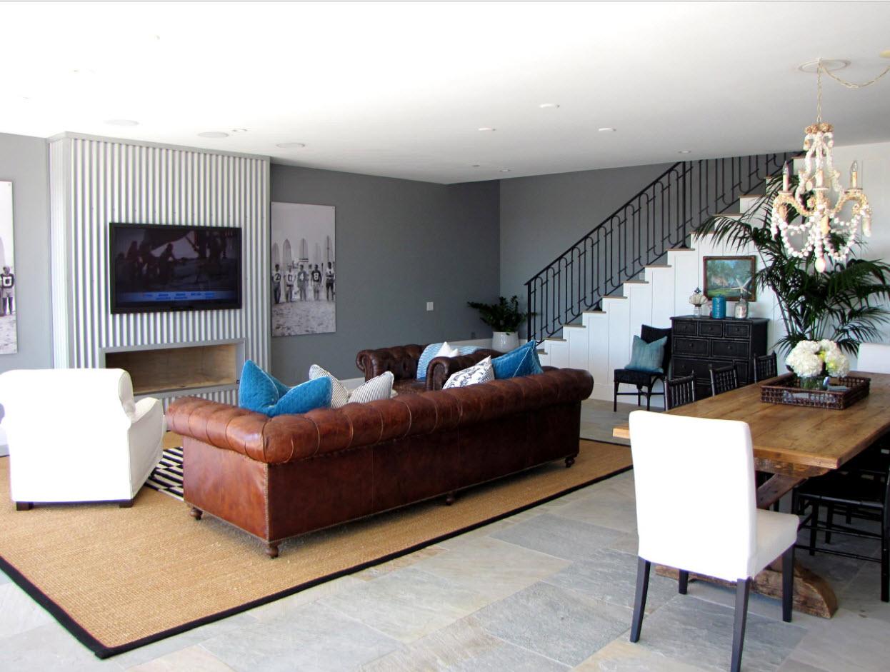 Мебель как элемент зонирования