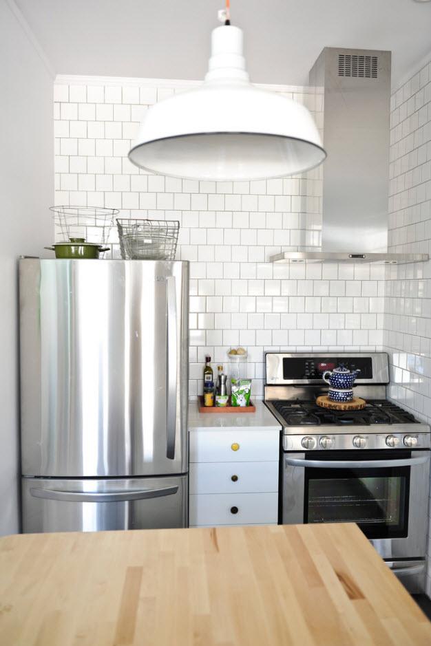 Крохотная кухня