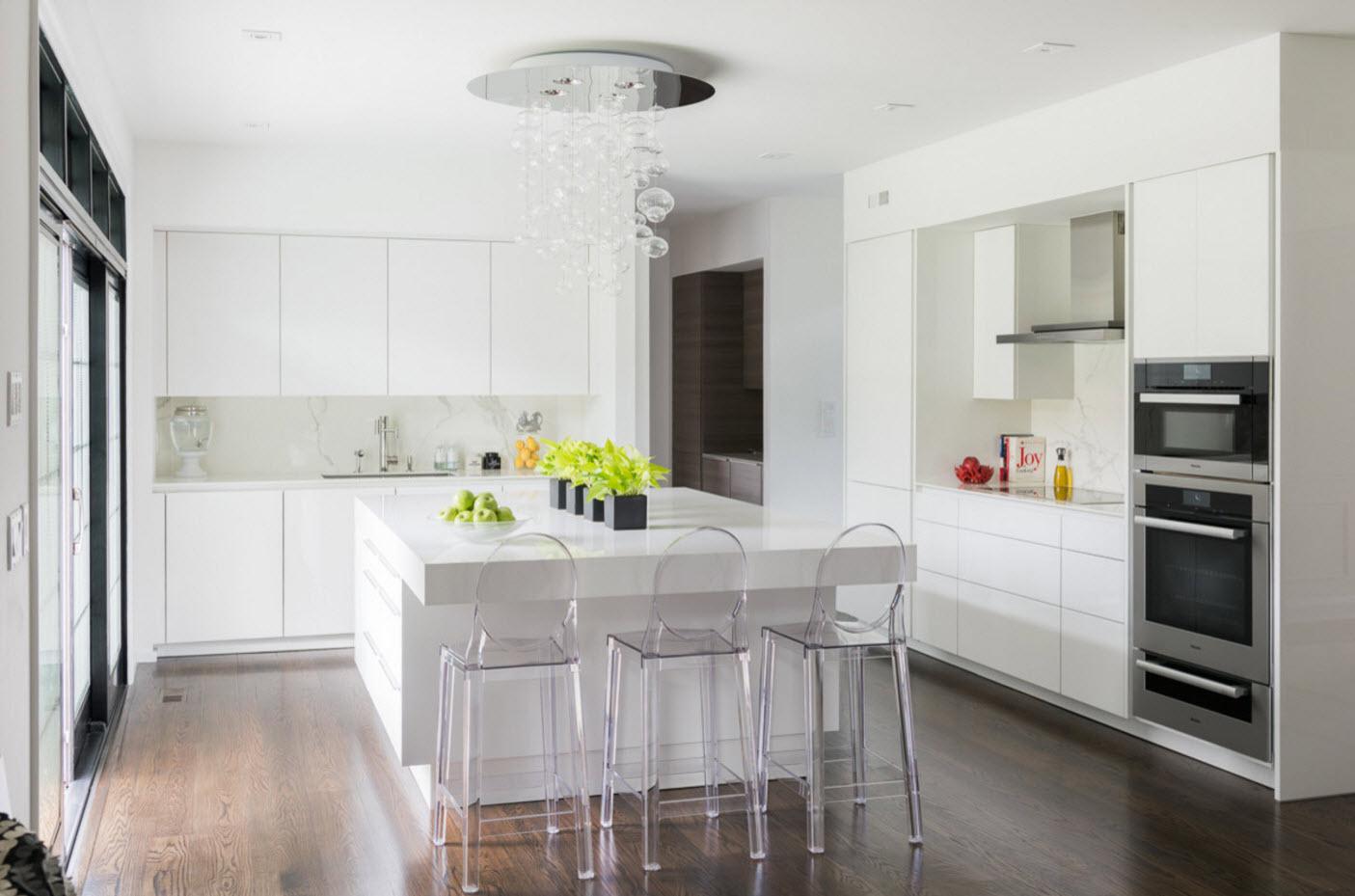 Белоснежная идиллия кухни