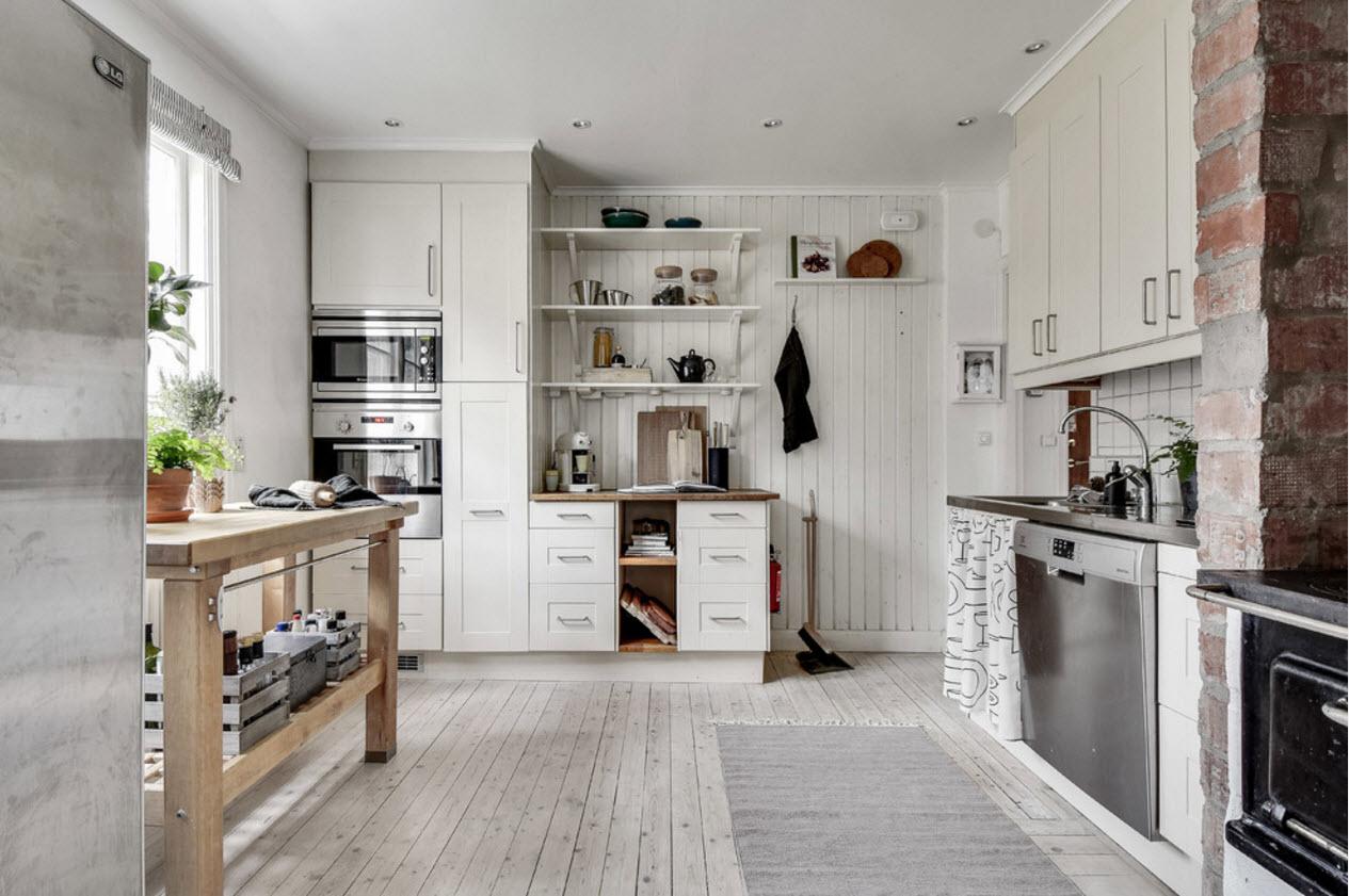 Прованс для кухни частного дома