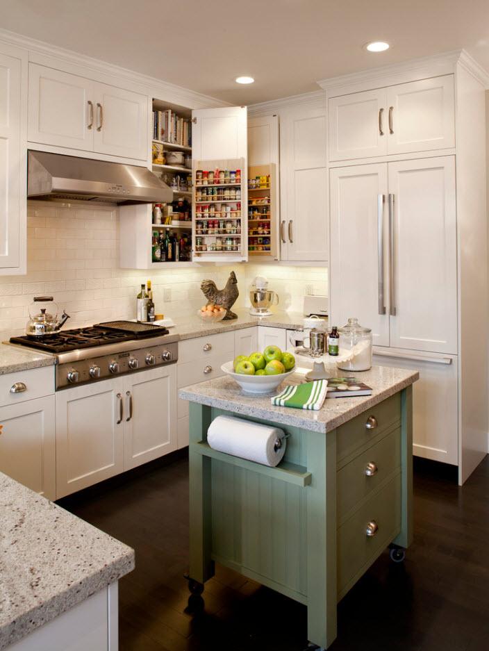 Дизайн с кухонным островом