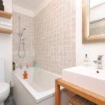Маленькая ванная комната – дизайн 2017 года