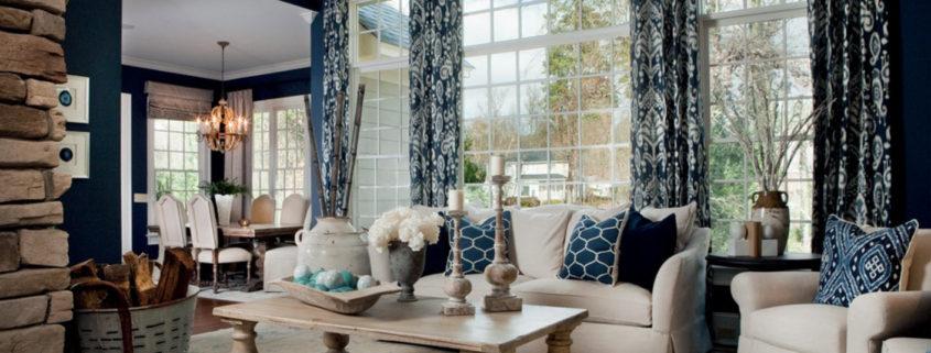 Интерьер и дизайн штор в гостиной Красивые и современные 80