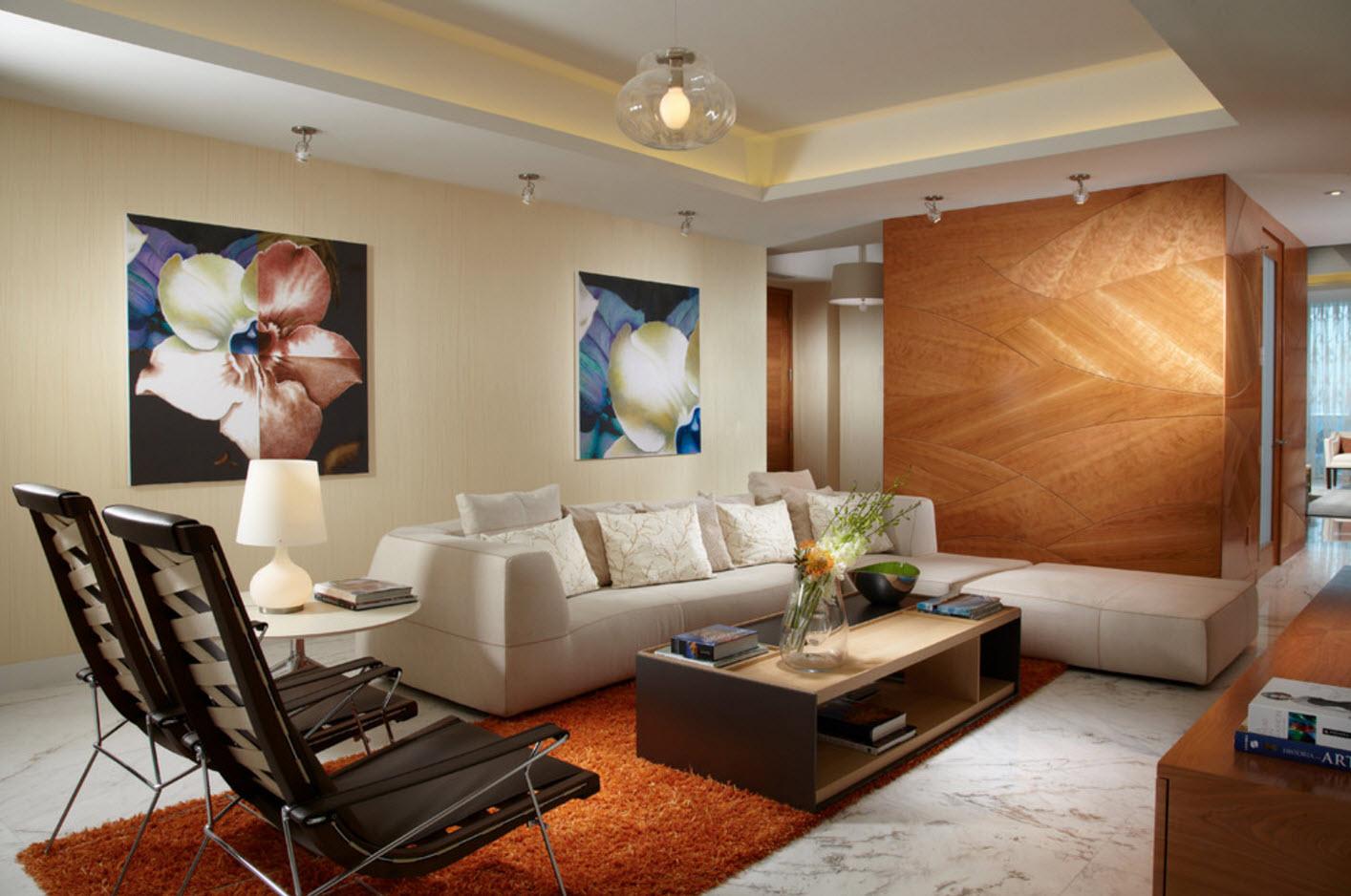 Система освещения в современном помещении