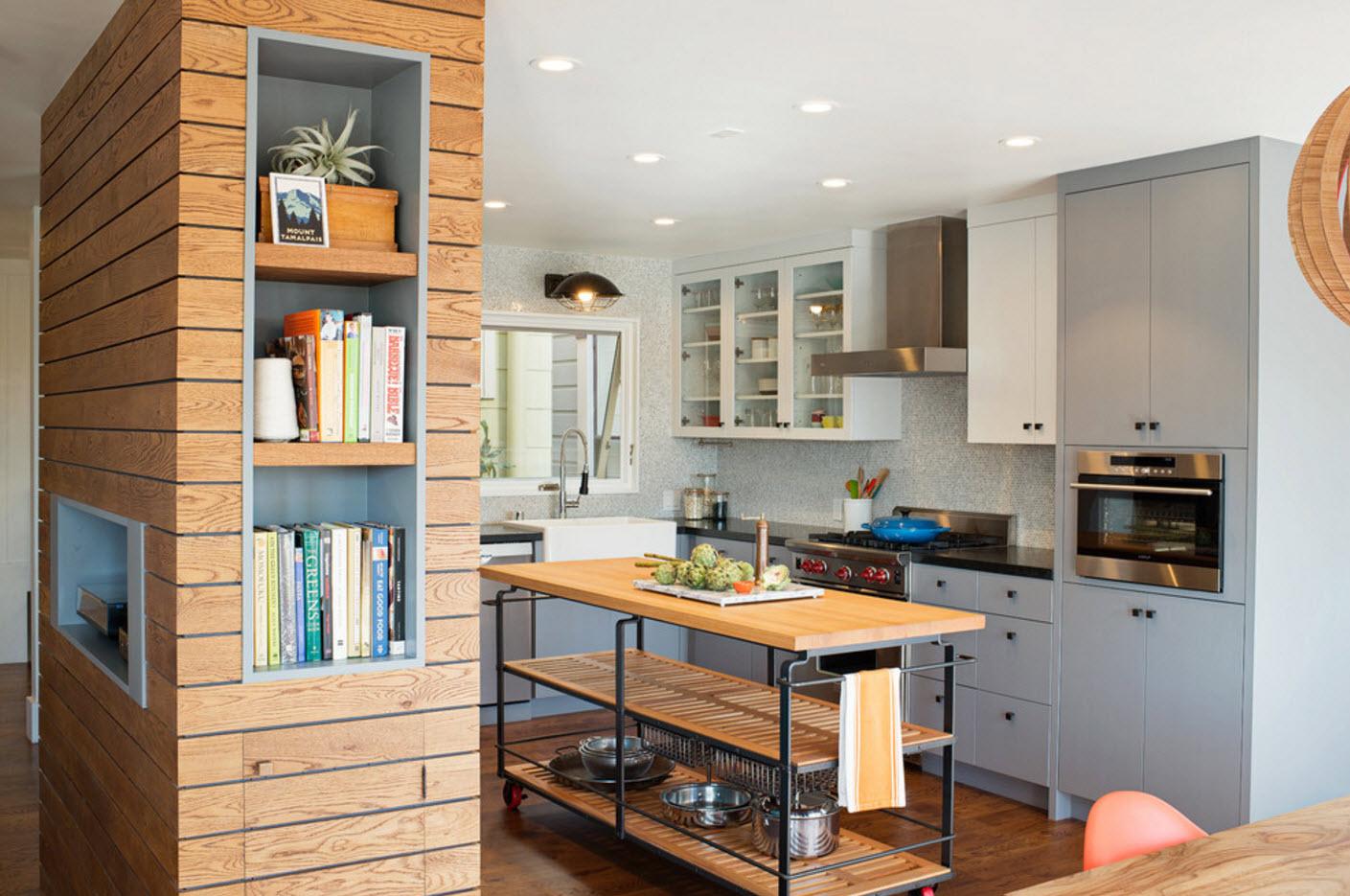 Вил на кухню в совмещенном помещении