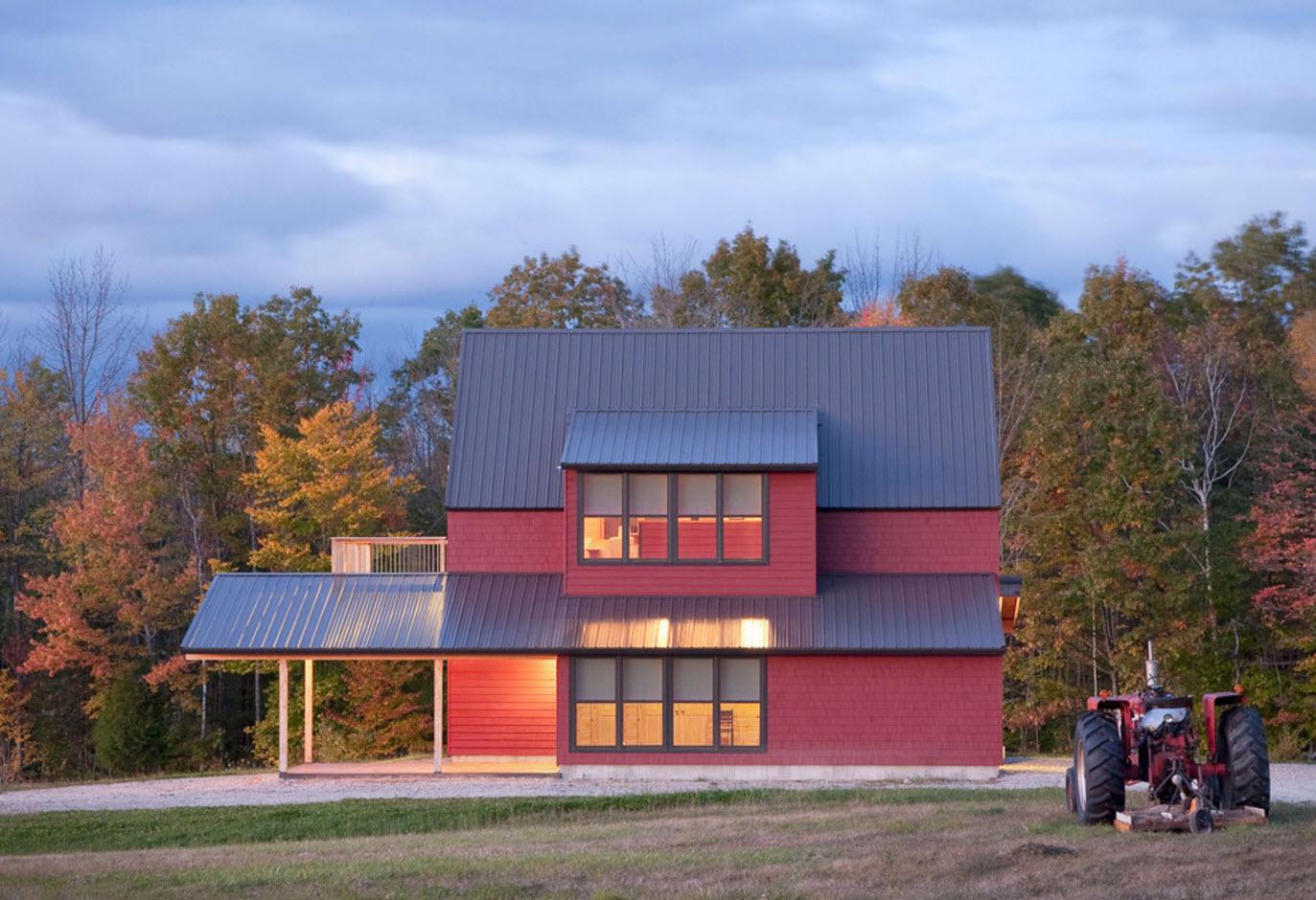 Частное загородное домовладение