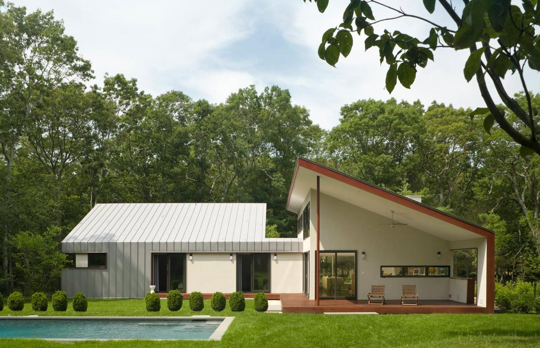 Необычный дизайн частного дома