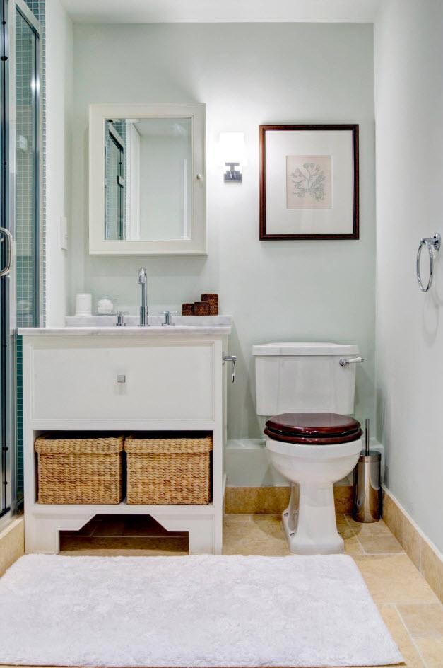 Декорирование ванной комнаты