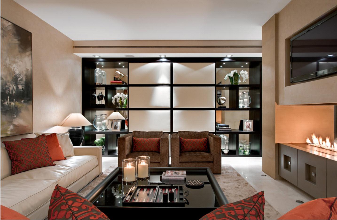 Комфортабельная гостиная