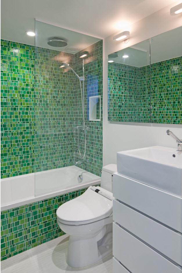 Ярко-зеленый дизайн