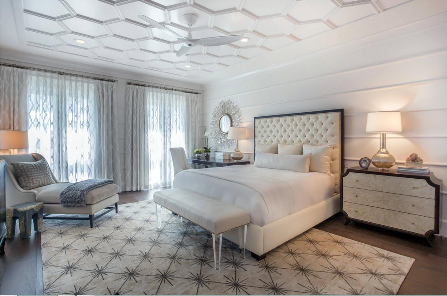 Светлый дизайн для спальни