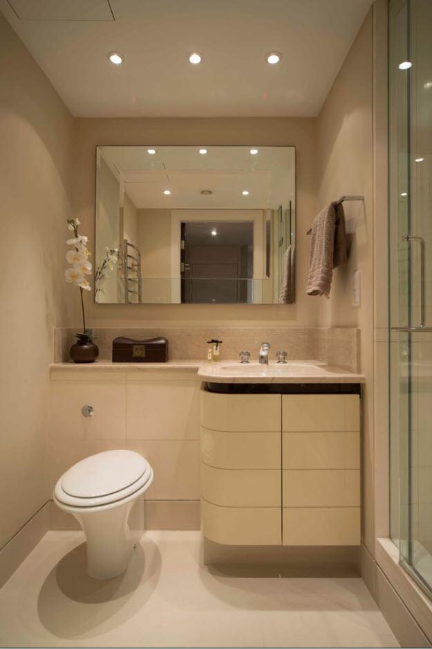 Дизайн маленькой ванны. фото