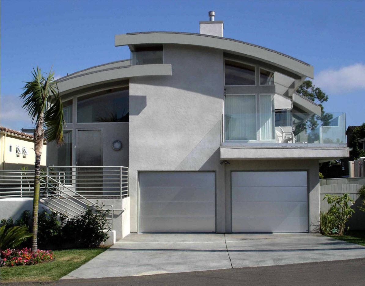 Сводчатая крыша для современного дома