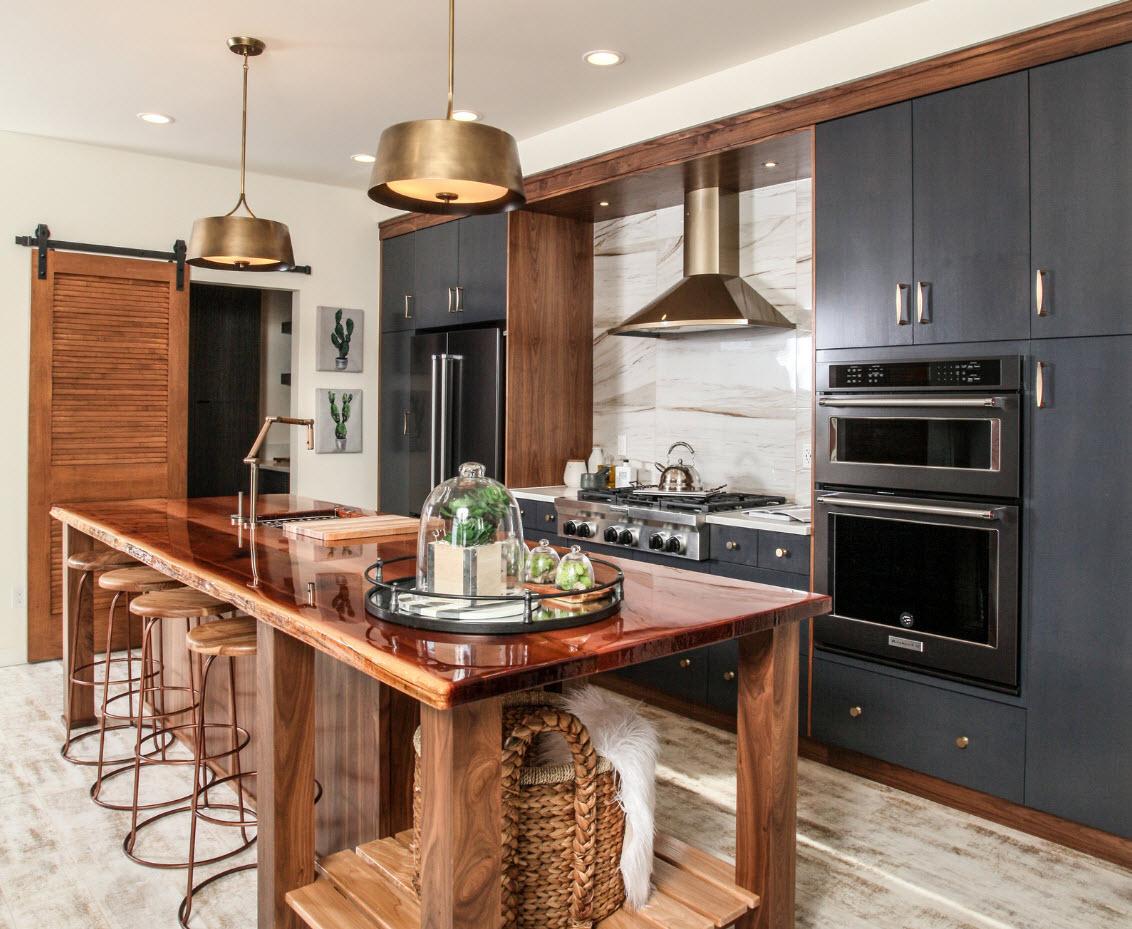Креативный интерьер кухни